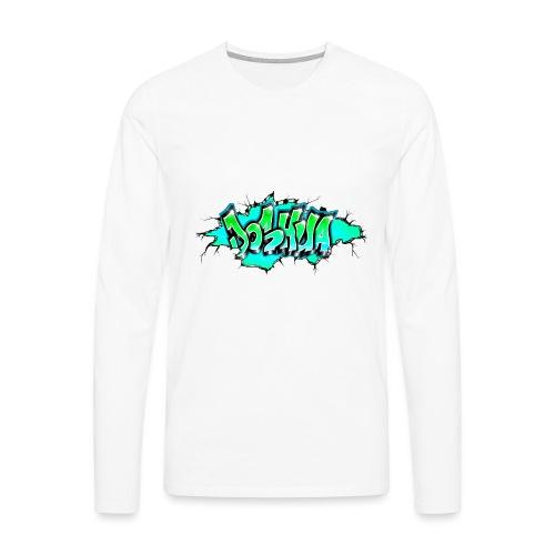 GRAFFITI JOSHUA PRINTABLE WALL BROKE - T-shirt manches longues Premium Homme