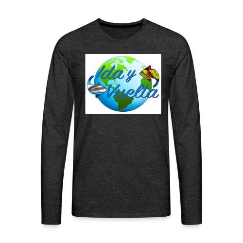 Ida y Vuelta-jpeg - Camiseta de manga larga premium hombre
