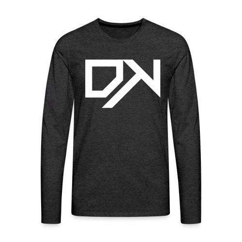 DewKee Logo Mug White - Men's Premium Longsleeve Shirt
