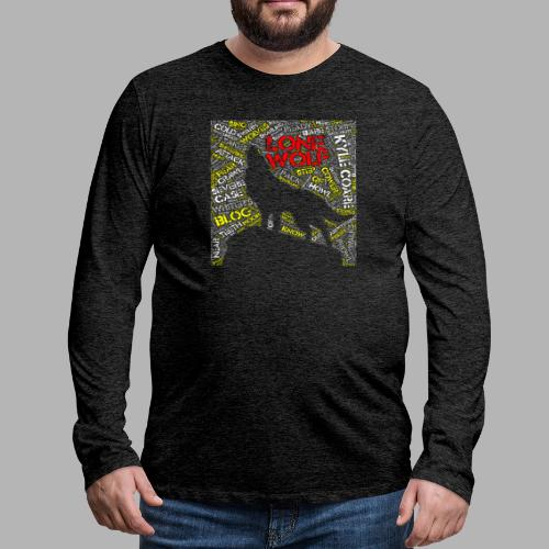 Lone Wolf - Men's Premium Longsleeve Shirt