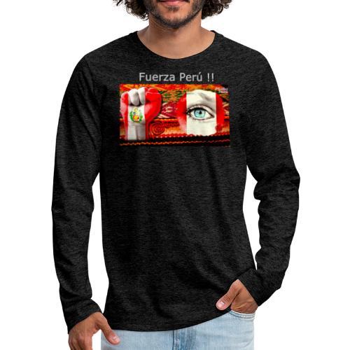 Telar Fuerza Peru I. - Männer Premium Langarmshirt