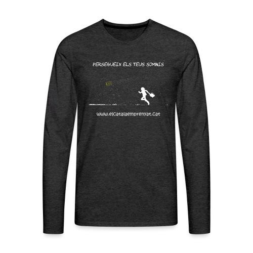SOMNIS - Camiseta de manga larga premium hombre