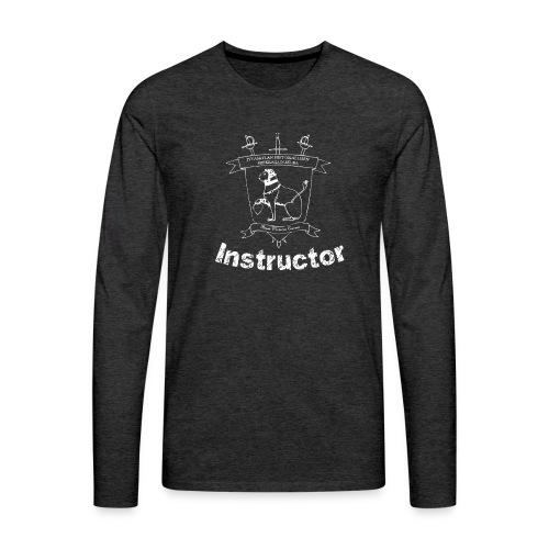 Ohjaajien paita, naisten malli - Miesten premium pitkähihainen t-paita