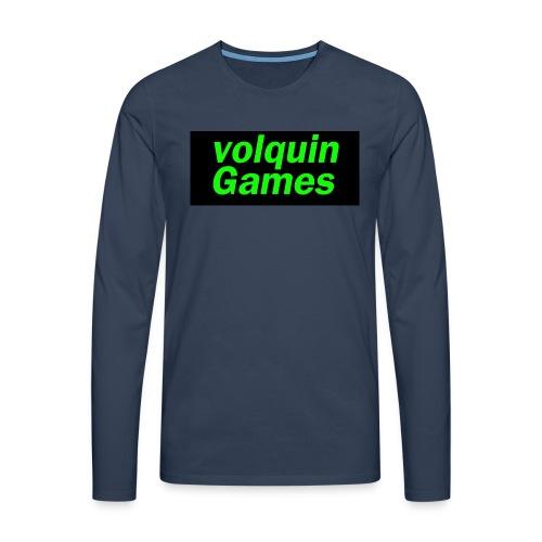 volquin - Mannen Premium shirt met lange mouwen