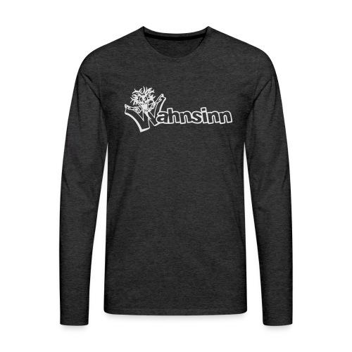 Wahnsinn Logo - Mannen Premium shirt met lange mouwen