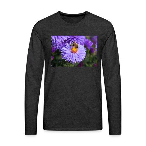 wertvolle Biene - Männer Premium Langarmshirt