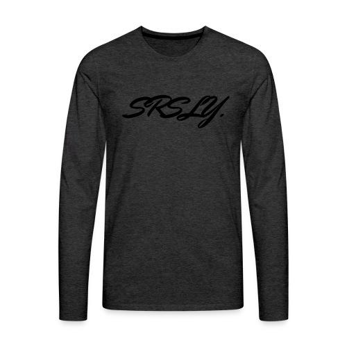 SRSLY - T-shirt manches longues Premium Homme