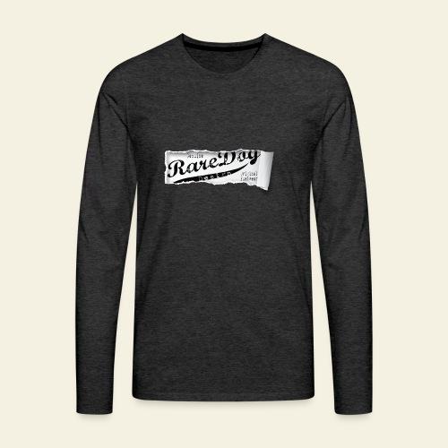 ripped paper - Herre premium T-shirt med lange ærmer