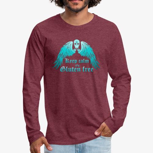 Keep calm it's Gluten free - Men's Premium Longsleeve Shirt