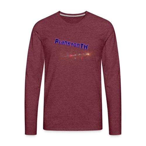 PlanktonTH, Lens Flare - Miesten premium pitkähihainen t-paita