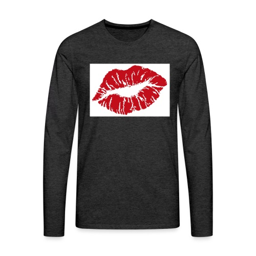 Tasse bisous - T-shirt manches longues Premium Homme