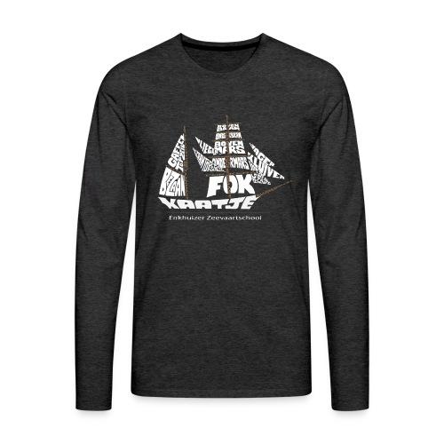 EZS T shirt 2013 Back - Mannen Premium shirt met lange mouwen