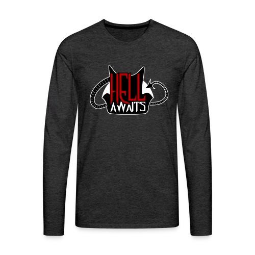 Hell Awaits -clean - Mannen Premium shirt met lange mouwen