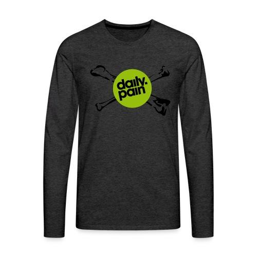 daily pain cho kark - Koszulka męska Premium z długim rękawem