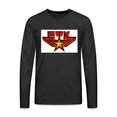 ctkred - T-shirt manches longues Premium Homme