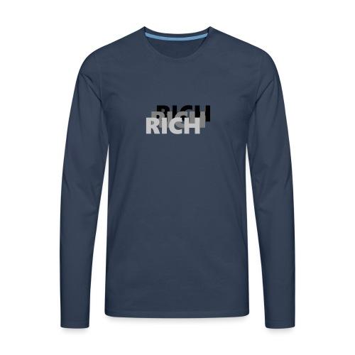 RICH RICH RICH - Mannen Premium shirt met lange mouwen