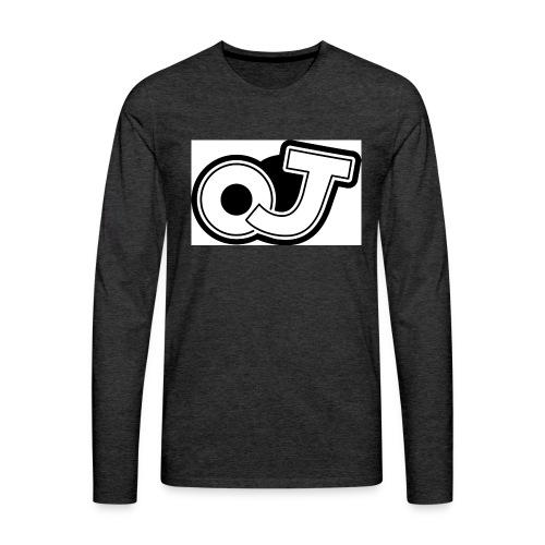 OJ_logo - Mannen Premium shirt met lange mouwen