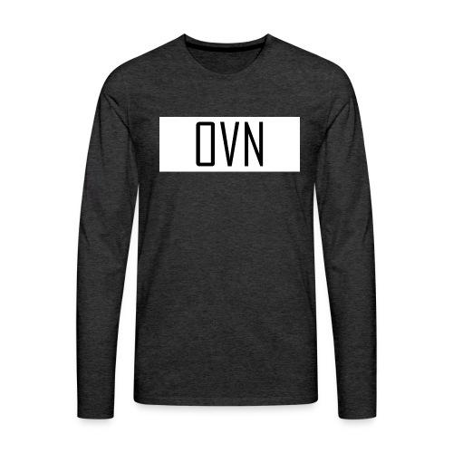 OVN Strapback - Mannen Premium shirt met lange mouwen