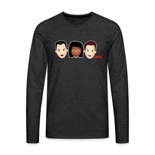 Beat Breakfast Travel Mug - Men's Premium Longsleeve Shirt