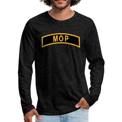 MÖP-Båge - Långärmad premium-T-shirt herr