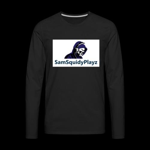 SamSquidyplayz skeleton - Men's Premium Longsleeve Shirt