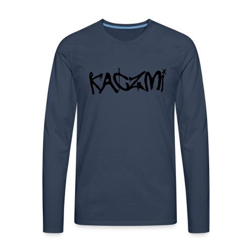 kaczmi - Koszulka męska Premium z długim rękawem