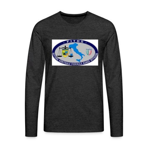 Logo SAFRO - Maglietta Premium a manica lunga da uomo