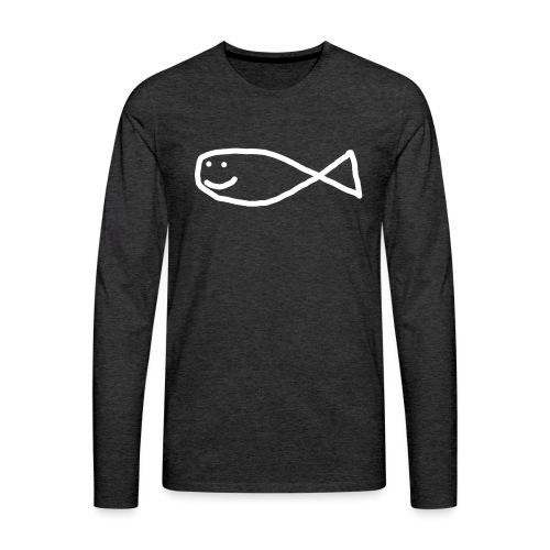 Klassisk Strandfisk Belteveske - Premium langermet T-skjorte for menn