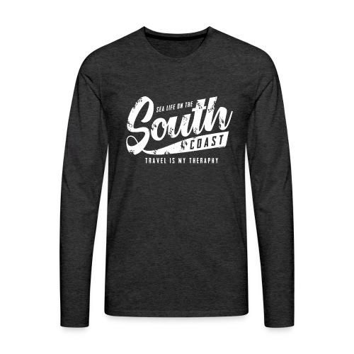 South Coast Sea surf clothes and gifts GP1305A - Miesten premium pitkähihainen t-paita