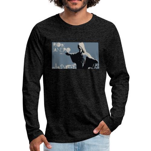 Rio - Camiseta de manga larga premium hombre