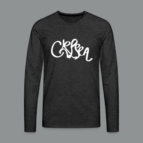 Sweater Unisex (rug) - Mannen Premium shirt met lange mouwen