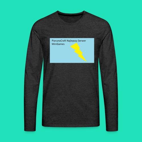 Etui Piorunowe Na Telefon 6s - Koszulka męska Premium z długim rękawem