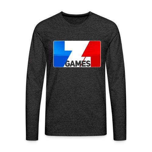 9815 2CZoominGames so MLG - Men's Premium Longsleeve Shirt