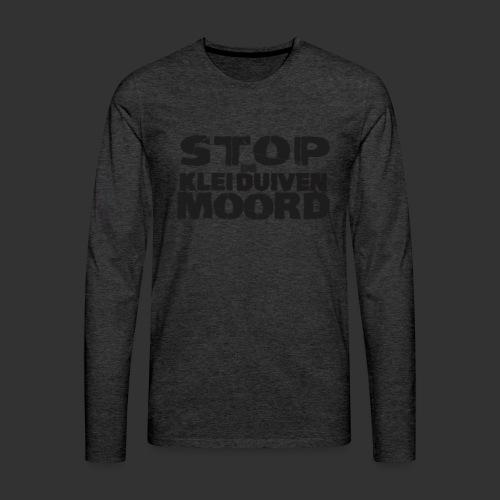 kleiduivenmoord - Mannen Premium shirt met lange mouwen