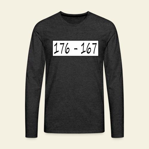 176167 - Herre premium T-shirt med lange ærmer