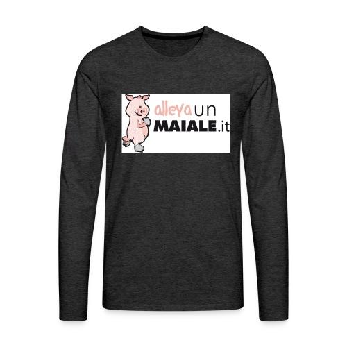 Coulotte donna allevaunmaiale.it - Maglietta Premium a manica lunga da uomo