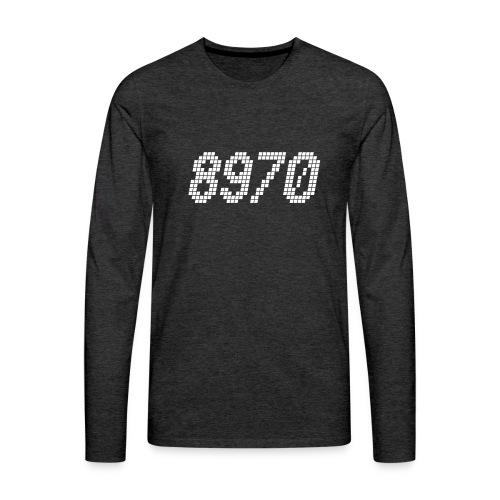 8970 Havndal - Herre premium T-shirt med lange ærmer