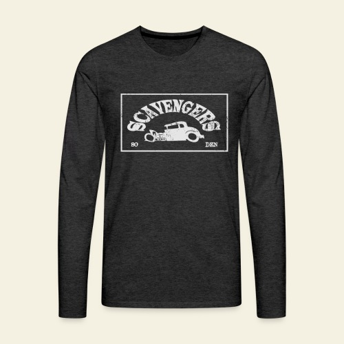 scavengers1 - Herre premium T-shirt med lange ærmer