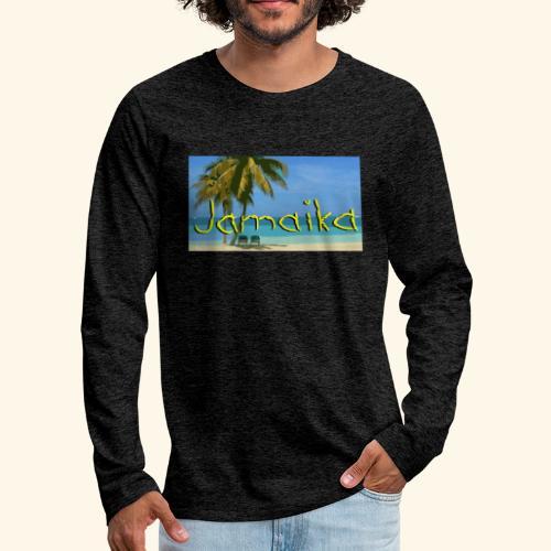 JAMAIKA - Männer Premium Langarmshirt