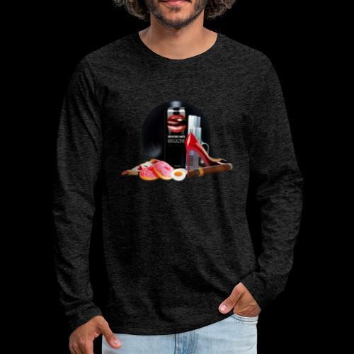 Luxury Energy Drink [Cyber Glam Collection] - Men's Premium Longsleeve Shirt