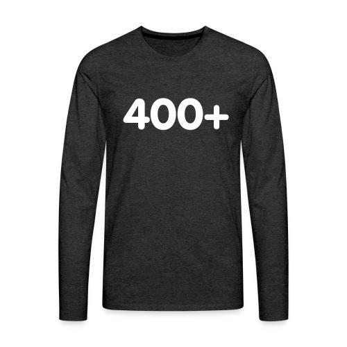 400 - Mannen Premium shirt met lange mouwen
