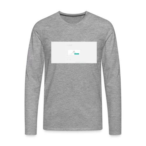 dialog - Men's Premium Longsleeve Shirt