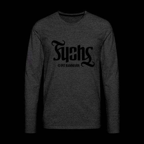 Ambigramm Fuchs 01 Pit Hammann - Männer Premium Langarmshirt
