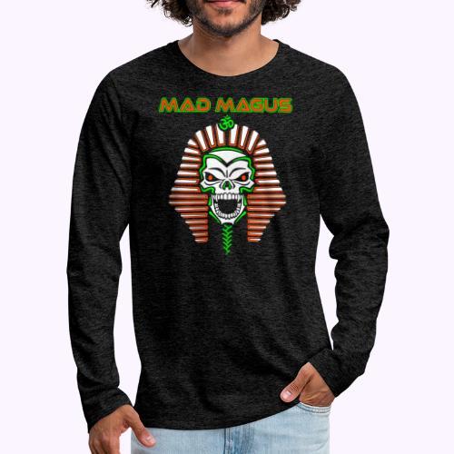hullu makea paita - Miesten premium pitkähihainen t-paita