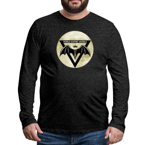 WGM Logo + Different is Beautiful   2 Sided Design - Men's Premium Longsleeve Shirt