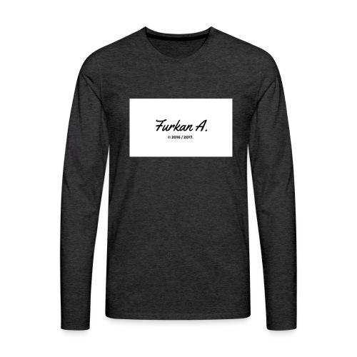 Furkan A - Mannen t-shirt - Mannen Premium shirt met lange mouwen