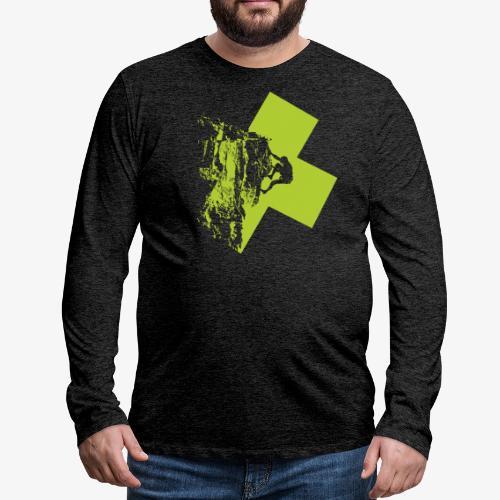 Climbing - Men's Premium Longsleeve Shirt
