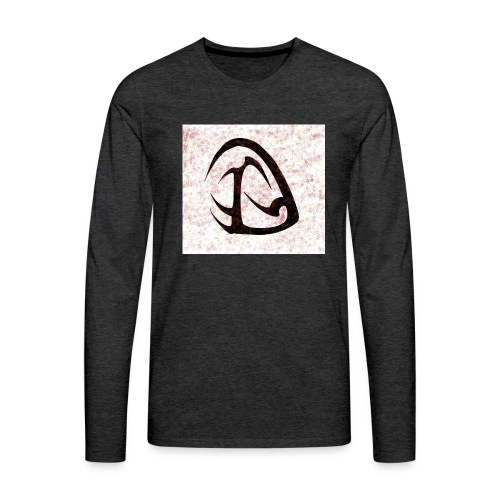 D Sangue Tribale - Maglietta Premium a manica lunga da uomo