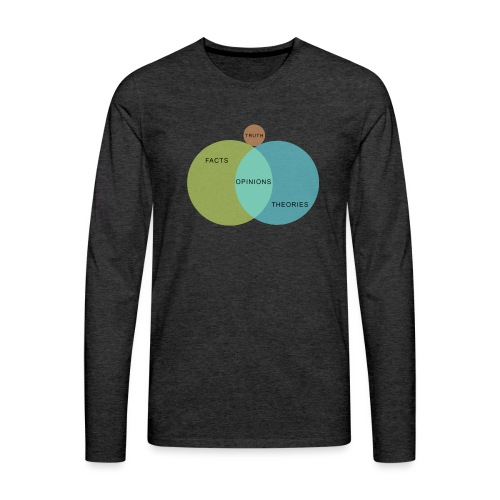 Ven Diagram Truth - Men's Premium Longsleeve Shirt