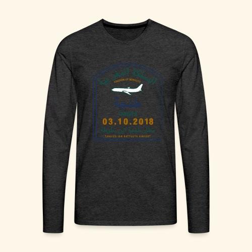 Tanger - T-shirt manches longues Premium Homme